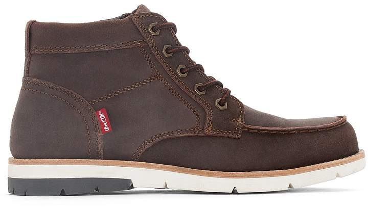 Levi's Dawson Mid Leather Ankle Boots