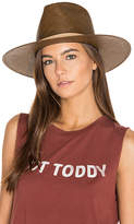 Janessa Leone Lani Panama Hat in Brown. - size L (also in )