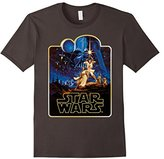 Star Wars Vintage Poster Art Graphic T-Shirt