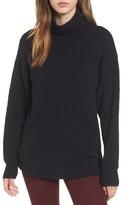 BP Women's Boucle Turtleneck Tunic Sweater