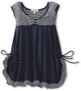 Luna Luna Copenhagen Regatta Dress (Toddler) (Navy) - Apparel