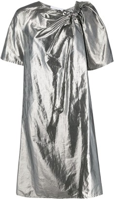 Christian Wijnants Metallic Finish Dress