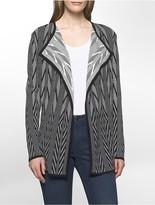 Calvin Klein Jacquard Flyaway Sweater