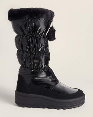 Pajar Black Toboggan 2.0 Quilted Snow Boots