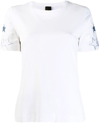 Lorena Antoniazzi embroidered star T-shirt
