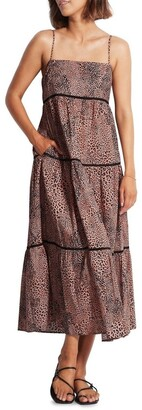 Seafolly Wild Ones Ladder Maxi Dress 54266-DR
