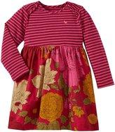 Pink Chicken Micah Dress (Baby) - Cerise Pink Stripe-6-12 Months