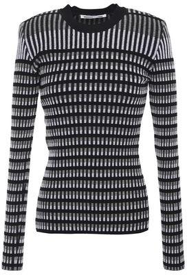 McQ Cotton-blend Jacquard Sweater