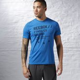 Reebok Workout Ready Graphic Supremium Tee