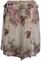 Galliano Pink Silk Skirt for Women