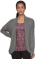 Gaiam Women's Grace Yoga Wrap Cardigan