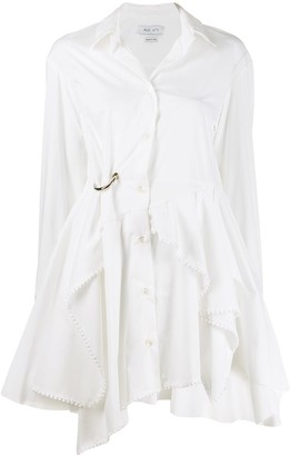 Act N�1 Draped Shirt Dress
