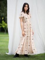 Diane von Furstenberg TVF Fern Crepe de Chine Maxi Dress