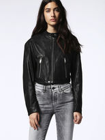 Diesel DieselTM Leather jackets 0EANU - Black - XS