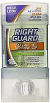 Right Guard Total Defense Clear Stick, Fresh Blast, 2-Ounce Units (Pack of 6)