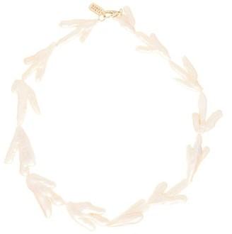 ALBUS LUMEN 18kt Gold-plated Keshi-pearl Choker - Pearl