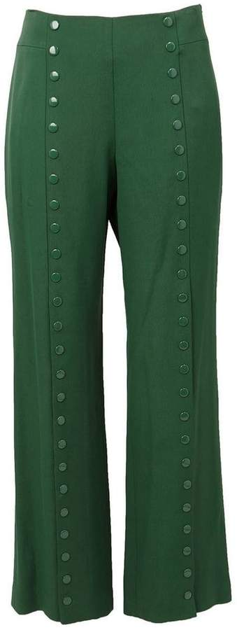 Rosie Assoulin studded wide leg trousers