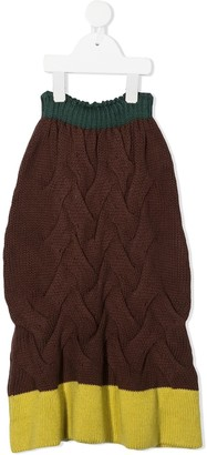 Wolf & Rita Cable-Knit Skirt