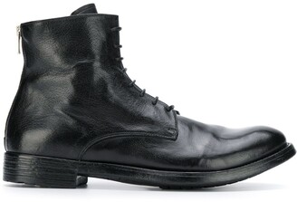 Officine Creative flat lace-up boots