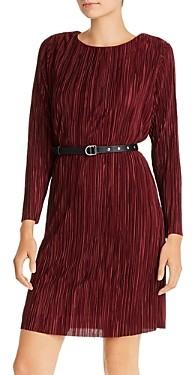 Sam Edelman Belted Plisse Dress