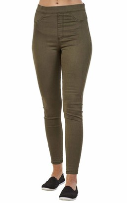 exfaMouSstore Ladies Quality Super Skinny Fit Stretch Cotton Rich High Waist Jeggings