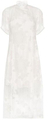 Beaufille Levine lace midi dress