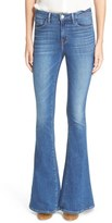 L'Agence 'Sophie' High Rise Flare Jeans (Authentique)