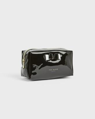 Ted Baker Vinyl Bow Makeup Bag