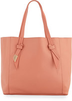 Foley + Corinna Ashlyn Leather Tote Bag, Toasted Peach/Azul/Crackle
