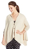 Roxy Junior's Changing Channels Oversized Poncho