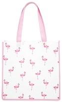 Forever 21 FOREVER 21+ Flamingo Print Tote Bag