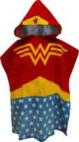 Intimo Wonder Woman Bath Towel Pool/Beach Hooded Poncho Robe for girls