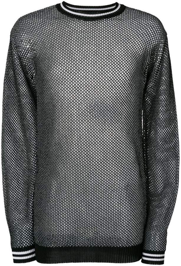 Diesel Black Gold honeycomb-knit sweater