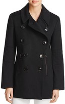 Sofia Cashmere Motorcycle Peacoat - 100% Bloomingdale's Exclusive