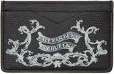 Alexander McQueen Black coat Of Arms Card Holder