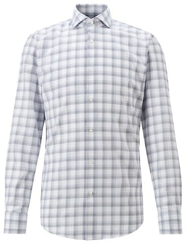 Thumbnail for your product : HUGO BOSS Jason Plaid Button-Up Shirt