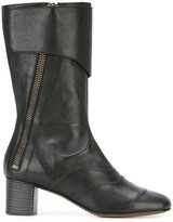 Chloé 'Lexie' mid-calf boots - women - Calf Leather/Leather/Nappa Leather - 36