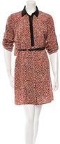 Sachin + Babi Printed Belted Dress