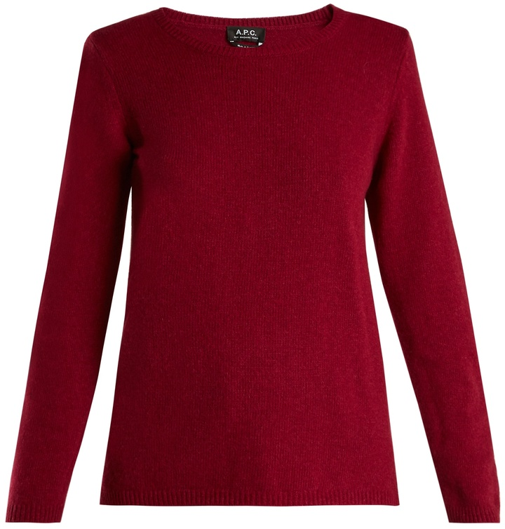 A.P.C. Blaze wool and cashmere-blend sweater