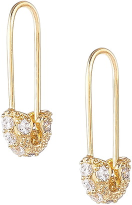Uncommon James by Kristin Cavallari Safety Pin Earrings