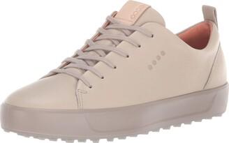 Ecco Women's Soft Low Hydromax Golf Shoe oyester 42 M EU (11-11.5 US)