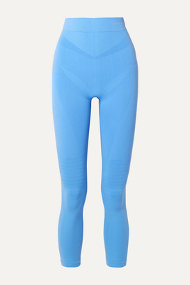 Falke Ergonomic Sport System Ergonomic Sport System - Stretch-knit Leggings - Light blue