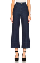 Stella McCartney High Waisted Crop Trousers
