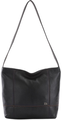 The Sak 108396BLA De Young Zip Top Shoulder Bag