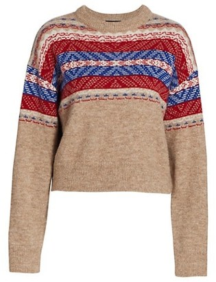 Rag & Bone Finlay Knit Crewneck Sweater