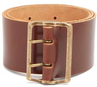 Giuliva Heritage Collection The Marisia Leather Belt - Womens - Tan