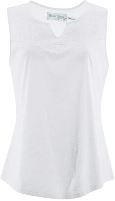 Aventura Clothing Cheri Tank Top (White) Women's Clothing