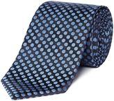 Hugo Boss Small Textured Spot Print Tie