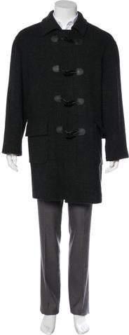 MICHAEL Michael Kors Wool Toggle Coat
