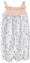 Starting Out Baby Girls 12-24 Months Sleeveless Floral-Print Shortall
